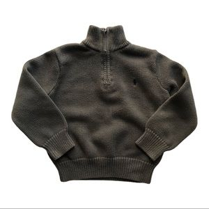 ⭐️ Boys Size 4T Polo Sweater